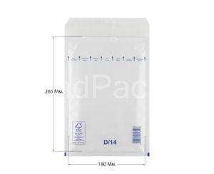 Пакет с воздушной подушкой D/14 200х275мм, AirPro